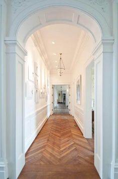 amazing herringbone floors