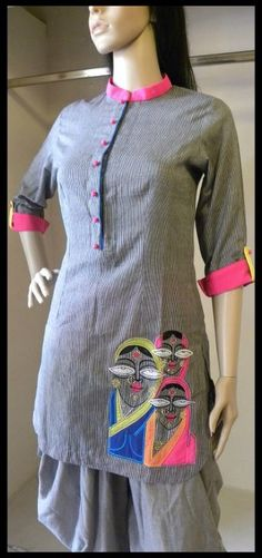 How to by this product Indian Attire, Indian Wear, Indian Outfits, Indian Dresses, Kurti Patterns, Dress Patterns, Sleeve Designs, Blouse Designs, Dress Designs