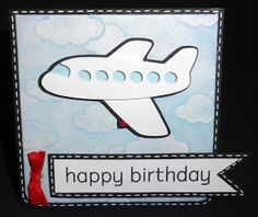 Cards by CG: Airplane Birthday