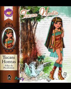 Cartoon Styles, Cartoon Art, Ever After High Rebels, Ever After Dolls, Pocahontas, High Art, Work Inspiration, Custom Dolls, Princesas Disney