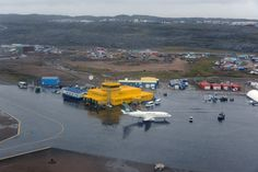 nunavut airport construction