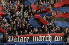 Crystal Palace Football, Crystal Palace Fc, Some People Say, Soccer Fans, Red And Blue, Death, Group, Crystals, Board