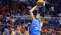 San Mig Coffee Mixers finished off Meralco Bolts, 79-73, to enter the finals of the PBA Governors' Cup at the SMART-Araneta Coliseum Sunday night. #PBA2013