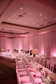 the lighting in this room is perfection. Such a good investment. #Weddings #WeddingLighting #Receptions