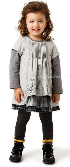 ALALOSHA: VOGUE ENFANTS: Catimini FW'14 collection for adorable little girls#more