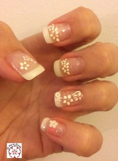 Pretty Nails, Makeup, Blog, French, Style, Felt Mouse, Nailed It, Feet Nails, Nail Decorations