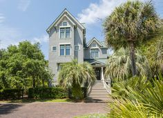 The home at 213 Ocean Marsh Drive on #Kiawah Island in coastal South Carolina (available for sale as of 02.20.17) #LuxuryRealEstate #LuxuryHomes | Kiawah Island Real Estate