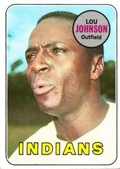 1969 Topps #367 Lou Johnson Front