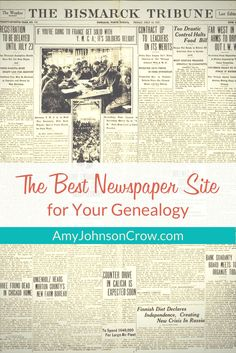 Subscription newspaper sites for your genealogy can be expensive. Here's how to find the best one for you. via @amyjohnsoncrow