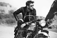 Leather Jewelry and Motorcycle – The New Trend Lederschmuck und Motorrad – Der neue Trend Motorcycle Photo Shoot, Motorcycle Wedding, Motorcycle Men, Bike Photo, Motorcycle Style, Biker Style, Biker Love, Motorcycle Fashion, Photoshoot Idea