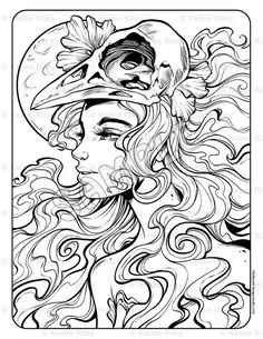 Among Us Adult Coloring Page