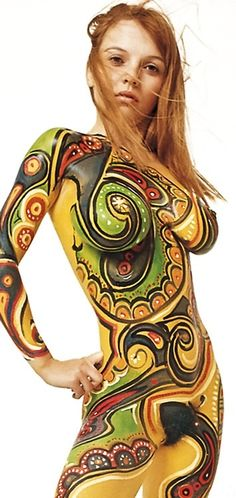 The art of total body art