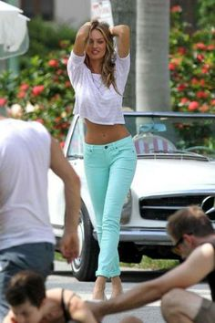 I is for Icy Pastels - Candice Swanepoel #sstrendguide