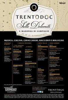 Trento doc inverno 2017 programma