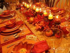 Dining Delight: Living Room Fall Decor
