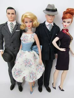 Mad Men dolls.