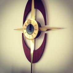 Welby mid-century clock