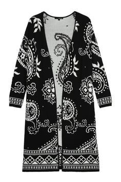 Find the latest womens fashion and new season trends at TALLY WEiJL. Shop must-have jeans, dresses, jumpers and more. Maxi Cardigan, Black Cardigan, Tally Weijl, Online Checks, Fashion 2015, Mode Style, Monochrome, Shop Now, Kimono Top
