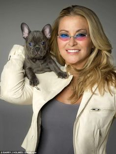 NEWS: Anastacia poses for the K-9 Angels 2016 Charity Calendar with her dog Tobin. More at www.anastaciafanclub.com.pt