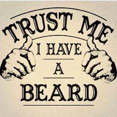 """""""Faites-moi confiance, j'ai une barbe"""" #lebavoir"""