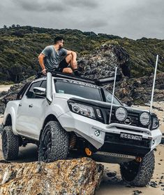 Off road driving demands for strong, reliable recovery points to cope with a hug.