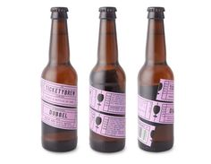 Tickety Brew branding & packaging by Carter Wong Design