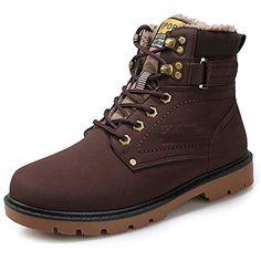 Oyedens Stivali Regalo Stivali Uomo Casual Sneakers Inverno Caldo Scarpe da  Ginnastica Espadrillas Outdoor Regalo Boots 043c048d319