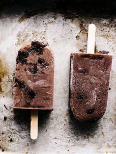 brownie fudgesicle pops