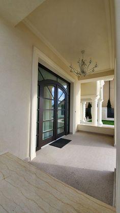 Proiect Casa Rezidentiala Bacau 2 – Profile Decorative Oversized Mirror, Arch, Windows, Furniture, Design, Home Decor, Houses, Prague, Longbow
