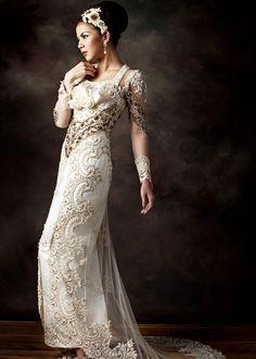 Prestige by Inar Modern Kebaya, Beautiful Wedding Gowns, Trends, Blouse Dress, Boho, Traditional Dresses, Bridal Dresses, Dress Wedding, Evening Gowns