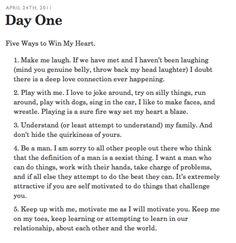 10 Ways To Win A Girls Heart