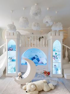 Bed For Girls Room, Cool Kids Bedrooms, Kids Bedroom Designs, Room Design Bedroom, Cute Bedroom Ideas, Playroom Design, Room Ideas Bedroom, Kids Room Design, Awesome Bedrooms