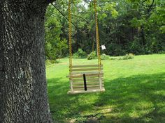 Childs swing toddler swing handcrafted wooden by Quarrydesigns