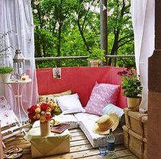 30 Ideas para decorar el pequeño balcón de tu casa - Vida Lúcida