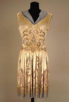 Evening dress, 1920's