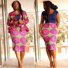 Ankara Styles Jacket And Skirt http://www.dezangozone.com/2016/07/ankara-styles-jacket-and-skirt.html
