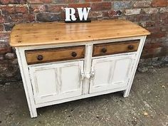 Vintage Upcycled Ercol Cupboard Cabinet Sideboard Distressed Mid Century Classic | eBay
