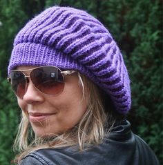 Your place to buy and sell all things handmade Slouchy Beanie, Beanie Hats, Cold Weather Gear, Etsy Shop Names, Knitted Beret, Knitting Accessories, Hats For Women, Hand Knitting, Winter Hats