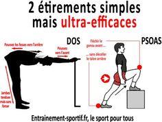 2 étirements simples pour le programme de musculation