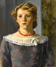 Eugene Speicher, Girl in a Coral Necklace, 1935