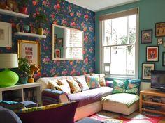 Casinha colorida: Mix de inspirações retrôs