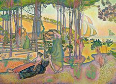 L'Air du soir | Henri-Edmond Cross