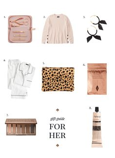 2017 Gift Guide: For her | Fashionably Clearance
