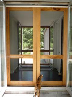 double screen doors | screen doors | Pinterest | Double screen ...
