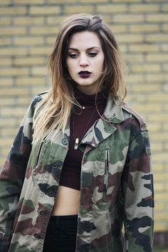 i bought an army jacket from the thrift store that looks just like this
