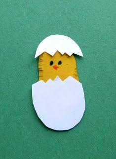 Easter: Eggs and Chicks | Art class ideas