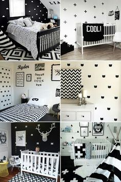 Monochrome Nursery Inspiration
