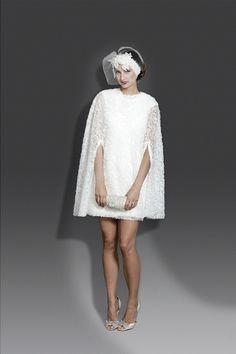 Very Jackie O - Little White Dress by Modern Trousseau