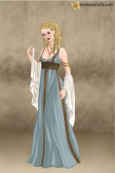 Princess Aurora, made with Azalea's Dolls Roman Lady. Disney Fan Art, Disney Style, Disney Love, Disney Magic, Non Disney Princesses, Greek Fashion, Disney Princess Pictures, Goddess Costume, Disney Sleeping Beauty
