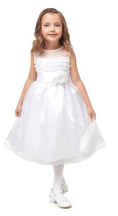 Girls KID Collection New Impressive Ruffled Flower Girl Dress Kid Collection, http://www.amazon.com/dp/B007C7STEI/ref=cm_sw_r_pi_dp_Nw3arb1AXEQTM